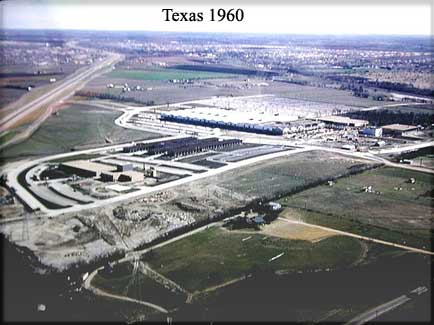 Site of TI's major SC factory - 1960